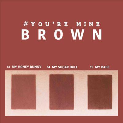 ลิป 4U2 You are mine เบอร์ 13 14 15