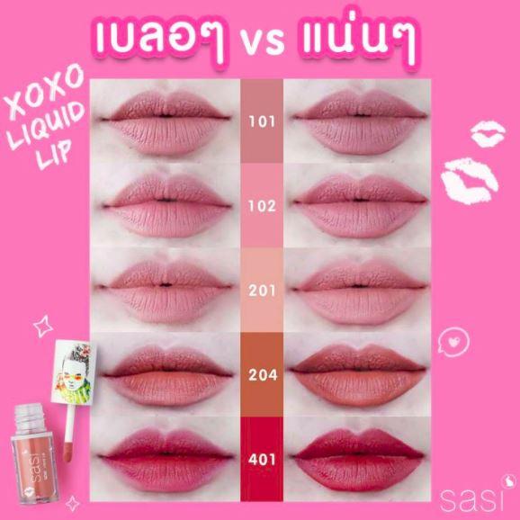 ลิปสติก-sasi-xoxo-liquid-Lip