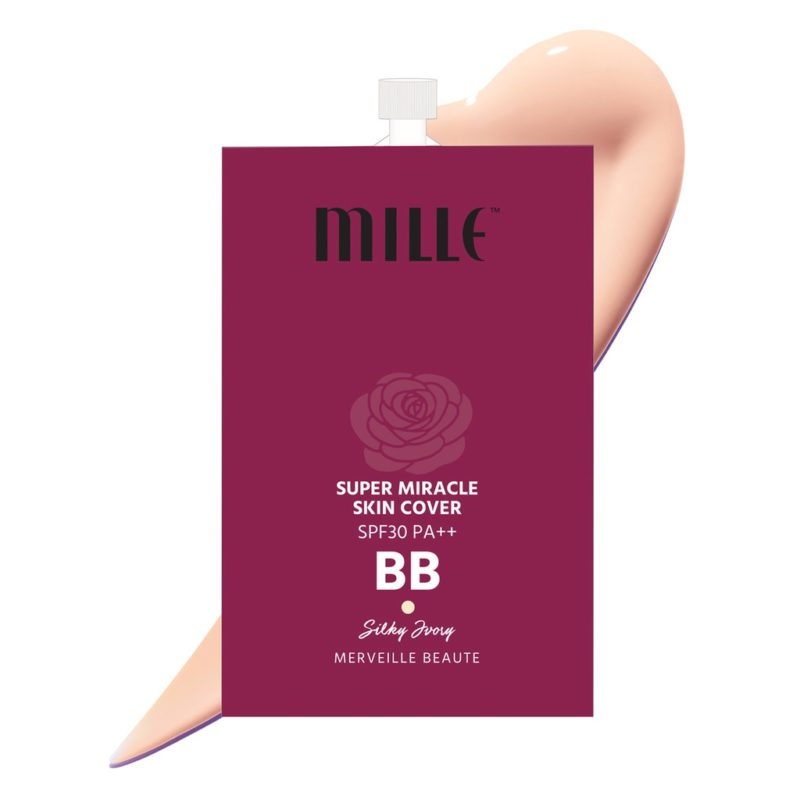 บีบีครีม Mille BB super miracle skin cover